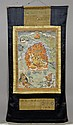 A FINE THANKA OF SENGE DRADROK. Tibet, 18th c. 66x43.5 cm. Mounted in brocade.