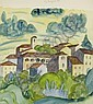 HESSE, HERMANN(Calw 1877 - 1962 Montagnola)View of, Hermann (1877) Hesse, Click for value