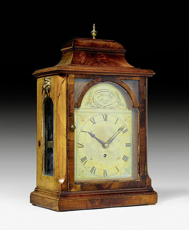 A BRACKET CLOCK, Regency, England, 19th c. The