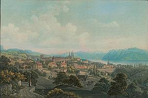 LAUSANNE.-Himely after Jean-Baptiste Dubois