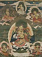 A THANGKA SHOWING THE FIVE SISTERS OF LONG LIFE.