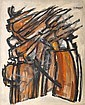 HELMAN, ROBERT. (1910 - 1990). Abstract, Robert Helman, Click for value