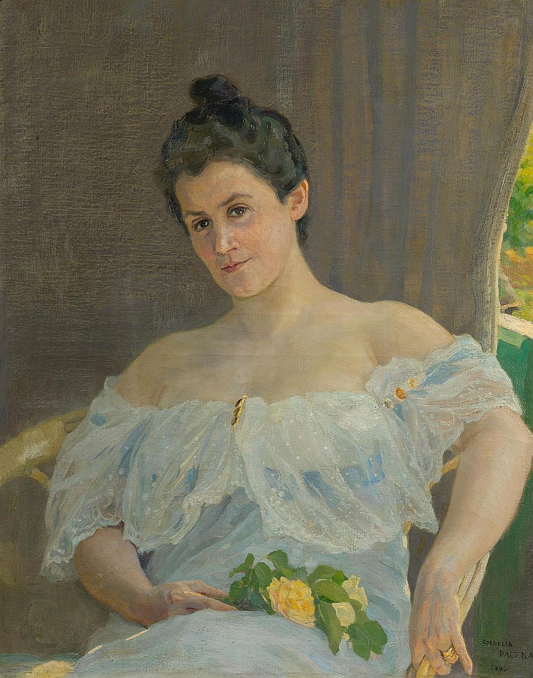 PACZKA WAGNER, CORNELIA. (1864 - ?). Woman with