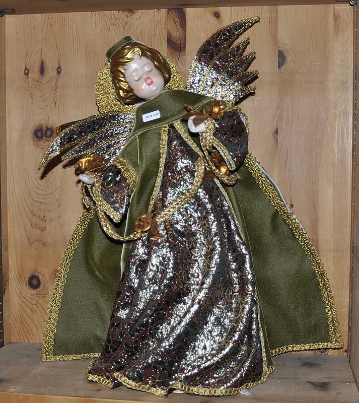 ANGEL, South Germany, Köstel, 20th century. Wax