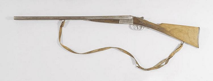 DOUBLE-BARRELED HUNTING RIFLE, France,