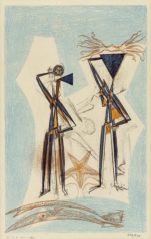 ERNST, MAX (Brühl 1891 - 1976 Paris) Étoile de mer