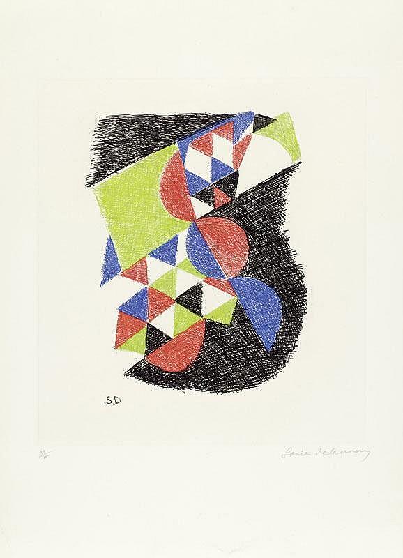 DELAUNAY-TERK, SONIA (Gradižsk 1885 - 1979 Paris)