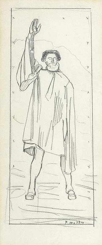 HODLER, FERDINAND (Bern 1853 - 1918 Geneva) Figure
