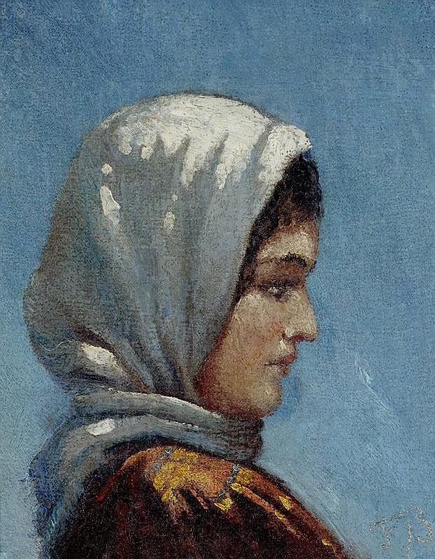 BUCHSER, FRANK (1828 Feldbrunnen 1890) Young
