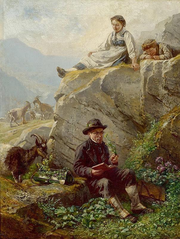RITZ, RAPHAEL (Brig 1829 - 1894 Sitten) The