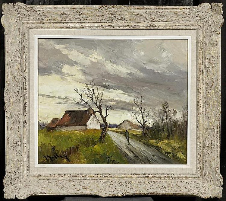 MASSON, MARCEL. (1911 Nangis 1988). Landscape in