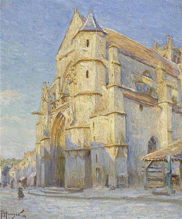 HOENIGER, PAUL. (1856 Berlin 1924). L'Eglise de