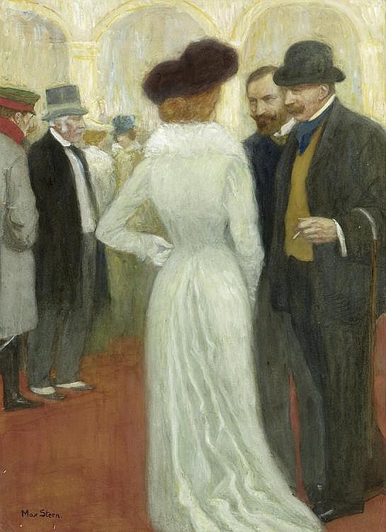 STERN, MAX (1872 Düsseldorf 1943). High society.