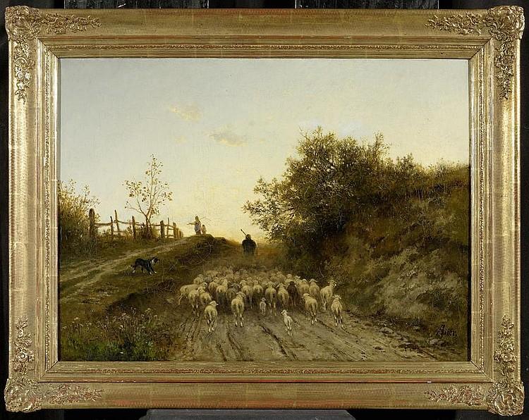 LIER, ADOLF HEINRICH. (Herrnhut 1826 - 1882