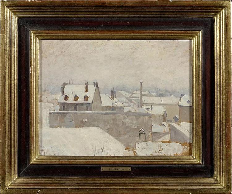 IHLY, JEAN DANIEL. (1854 Geneva 1910). View of
