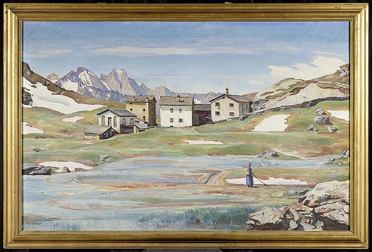 SALIS-SOGLIO, CARL ALBERT VON. (Turin 1886 - 1941