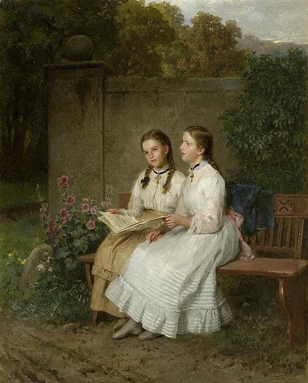 HEEREN, MINNA (HENRIETTE WILHELMINE). (1823