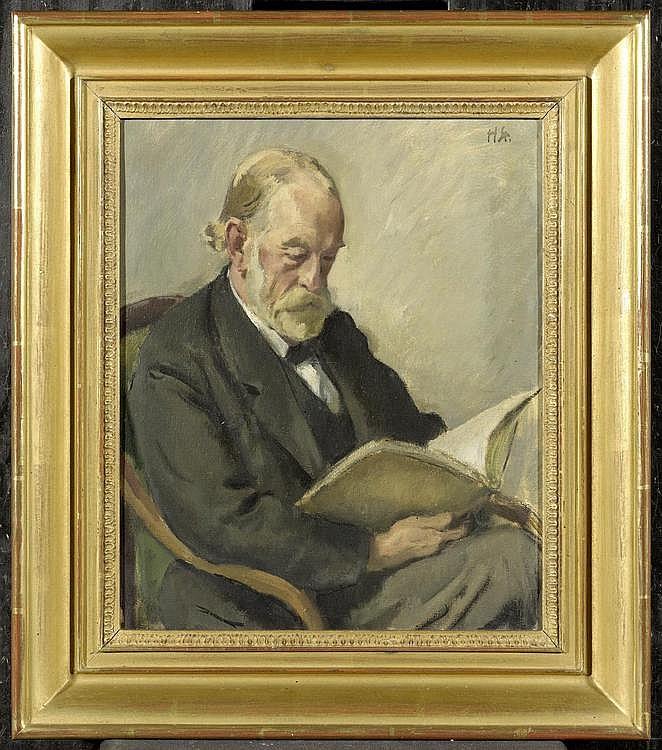 STURZENEGGER, HANS. (1875 Zurich 1943). Portrait