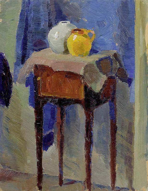 FEININGER, LYONEL (1871 New York 1956) Still life