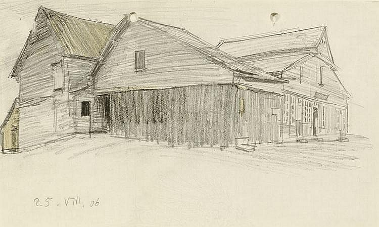 FEININGER, LYONEL (1871 New York 1956) Untitled