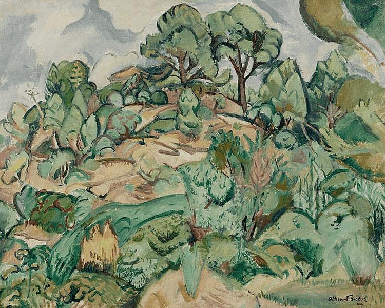 FRIESZ, ACHILLE EMILE OTHON (Le Havre 1879 - 1949