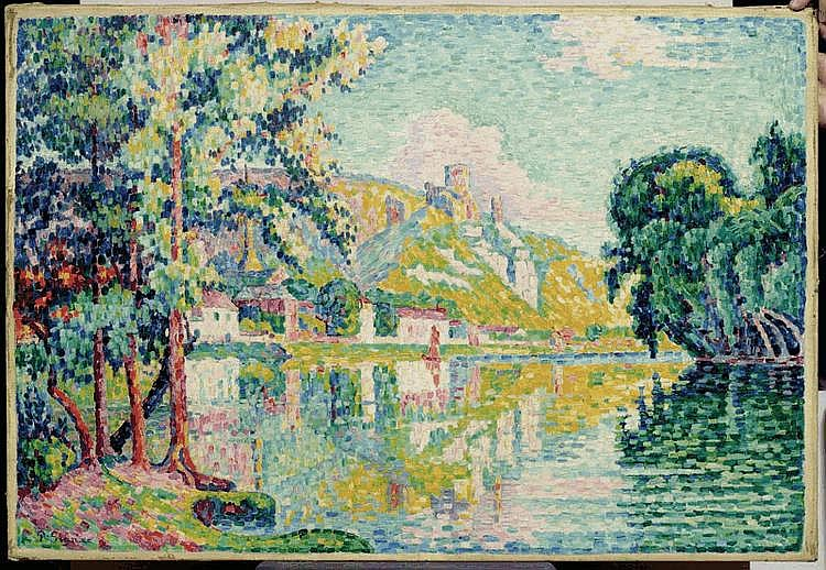SIGNAC, PAUL (1863 Paris 1935) Les Andelys.