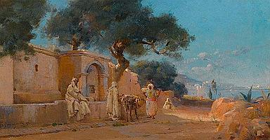 HERMENJAT, ABRAHAM(Geneva 1862 - 1932 La