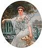 GERVEX, HENRI(1852 Paris 1929)Portrait of a lady,