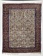 AFSHAR antique.Beige central field, patterned