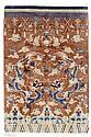 CHINA old.Brown ground, patterned with dragon and