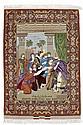 GHOM PICTORIAL CARPET.Depiction of Joseph