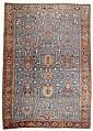 HERIZ SERAPI antique.Blue central field patterned