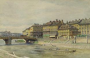 GRANER, ERNST(Werdau 1865 - 1943 Vienna)View of