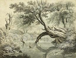WINTERLIN, ANTON(Degerfelden 1805 - 1894 Basel)Old