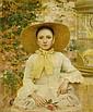 BUKOVAC, VLAHO(Cavtat 1855 - 1922 Prague)Girl in a