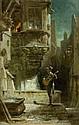 SPITZWEG, CARL(1808 Munich 1885)Das Ständchen.Oil