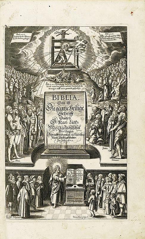 Biblia germanica - Biblia, das ist die gantze