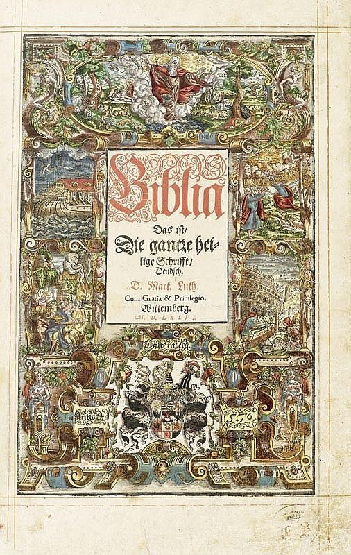 Biblia germanica - Biblia Das ist, Die gantze