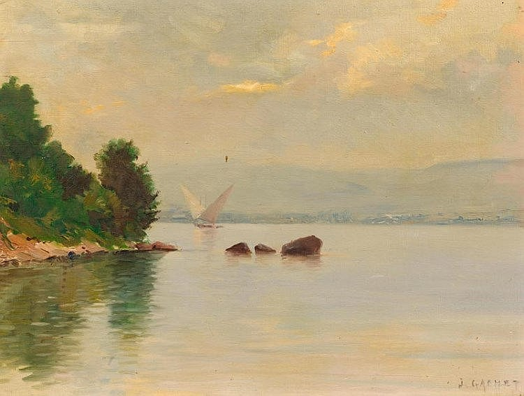 GACHET, JULES(Echallens 1859 - circ