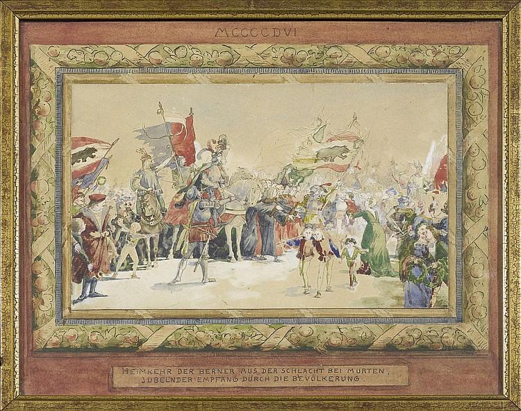 LEUENBERGER, ERNST OTTO (Bern 1856 - 1937 Besso)
