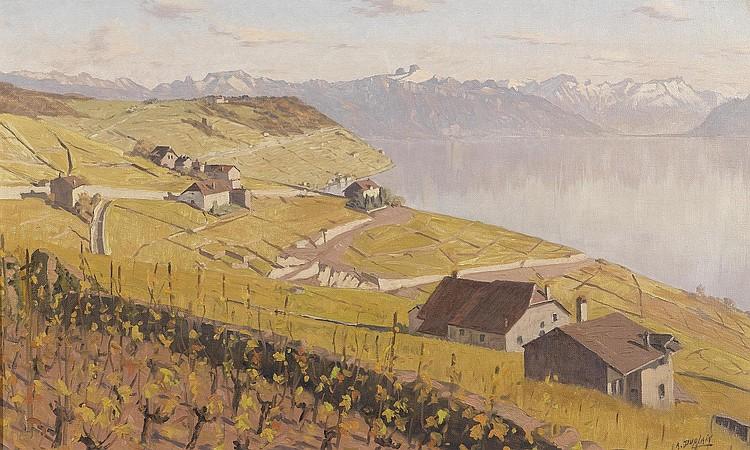 DUPLAIN, ALBERT (1890 Switzerland 1978) View of