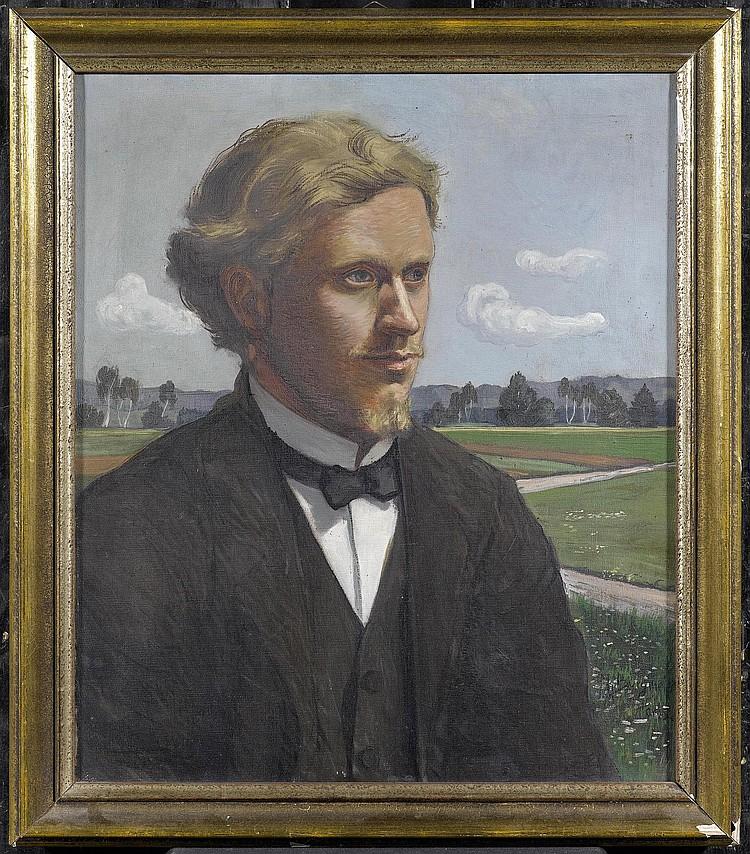 BURGMEIER, MAX (1881 Aarau 1947) Portrait of Jacob