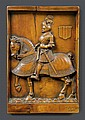 RELIEF WITH REPRESENTATION OF A KNIGHT,with