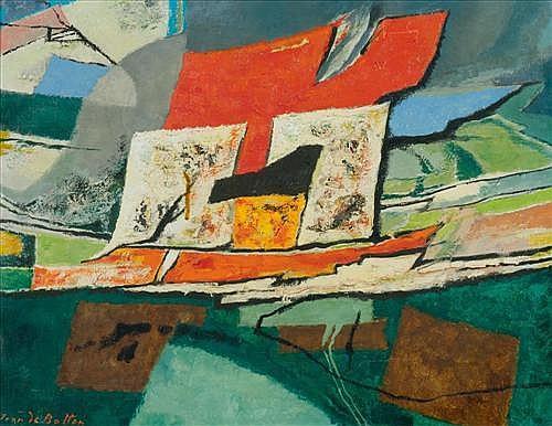 DE BOTTON, ISY (Paris 1898 - 1978 New York) Les Eléments. 1959/66.