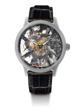 New Maurice Lacroix Master Piece skeleton watch.