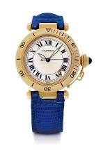 CARTIER PASHA wristwatch, 1990s.