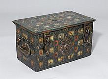 AN IRON CHEST,Baroque, Switzerland or Germany.