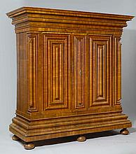 A SWISS BAROQUE ARMOIRE OR