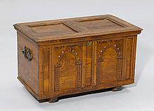 A SMALL CHEST,Renaissance style, 19th century.