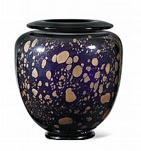 ROBERT PIERINI(1950)VASE, 1983.Black and
